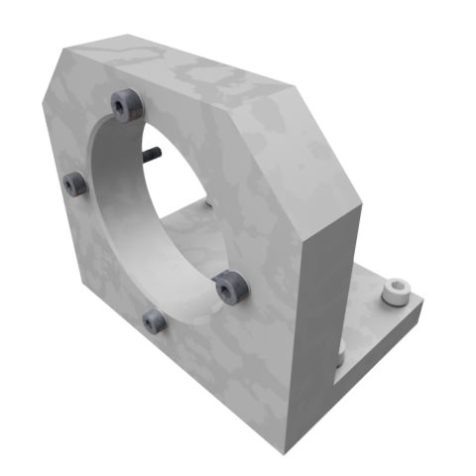 Spindle Mount 58mm Bore